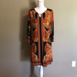 HAANI Chemise printed dress